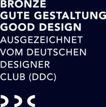 ausgezeichnet vom Deutschen Designer Club